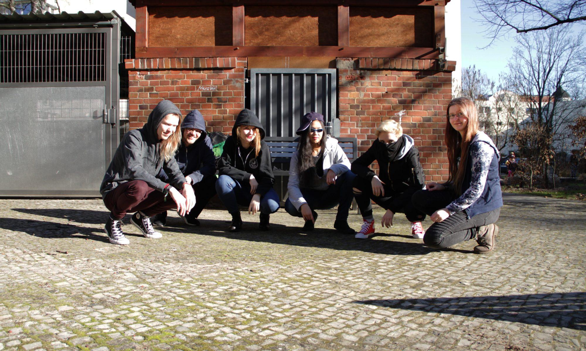 Gruppenfoto vom Orga-Team